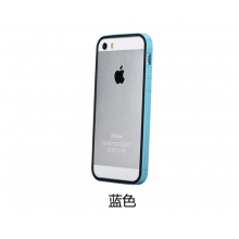 Чехол бампер Rock dual-color Slim Guard для iPhone 5/5S Синий