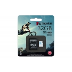 Карта памяти Kingston microSDHC 32Gb Action Camera UHS-I U3