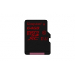 Карта памяти Kingston microSDXC 64Gb UHS-I U3 90R/80W