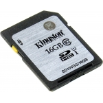 Карта памяти Kingston SDHC 16Gb class 10 45 mb/s